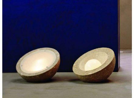 """Laboratorio del Marmo: """"Piere Palla"""", design by Renza Calabrese."""