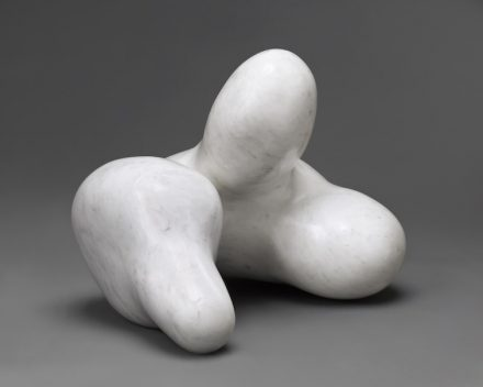 """Human Concretion"", 1934. Marble (carved before 1949). 13 1/4 x 16 x 15 1/2 in. (33.7 x 40.6 x 39.4 cm). Chrysler Museum of Art, Norfolk, Virginia. Gift of Walter P. Chrysler, Jr. 71.3208. © 2018 Artists Rights Society (ARS), New York/VG Bild-Kunst, Bonn. Photo: Ed Pollard/Chrysler Museum of Art"