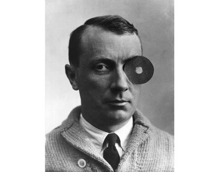 Portrait of Jean (Hans) Arp, ca. 1926. Photo courtesy Stiftung Arp e.V., Berlin/Rolandswerth