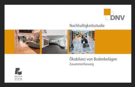 """DNV: """"Nachhaltigkeitsstudie - Ökobilanz von Bodenbelägen""""."""