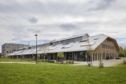 Die Panzerhalle in Salzburg.