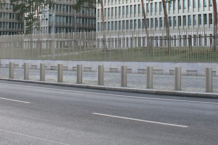 Die neue BND-Zentrale in Berlin.