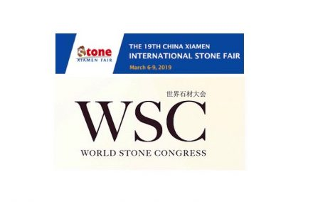 Logo des World Stone Congress'.