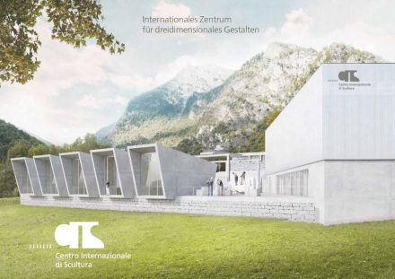 Rendering des Centro Internazionale di Scultura in Peccia.