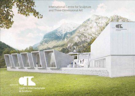 Rendering of the Centro Internazionale di Scultura in Peccia.
