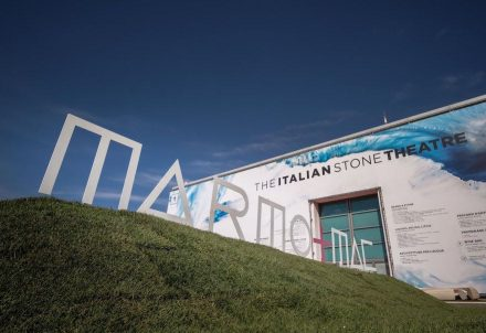 Marmomac: Italian Stone Theater. Photo: Veronafiere