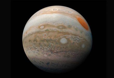 """Jupiter Marble"". Foto: NASA/JPL-Caltech/SwRI/MSSS/Kevin M. Gill"