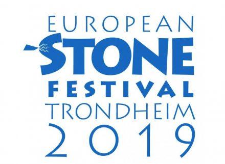 The logo of the European Stone Festival 2019.