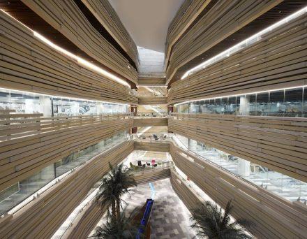 LOM architecture and design: die Nationalbank von Oman.