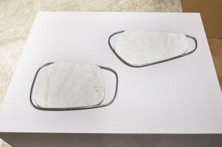 """Tray """"Aro"""". Design: esudiobola. Company: Magban. Stone: quartzite Dolomítico Matarazzo."""