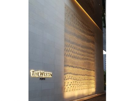 The Westin Perth: work by Lena Nyadbi.