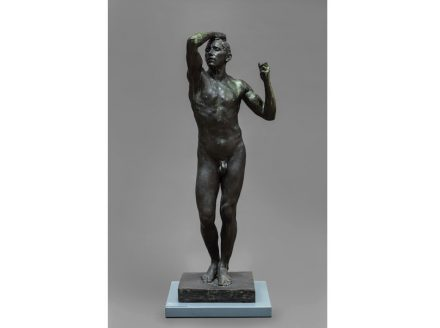 "Auguste Rodin: ""The Age of Bronze 1875-76""."