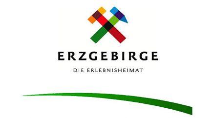 Das Logo der Tourismusregion Erzgebirge.