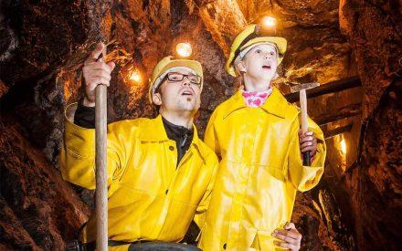 Titelfoto der Broschüre über die Bergbau-Erlebnistage 2019.