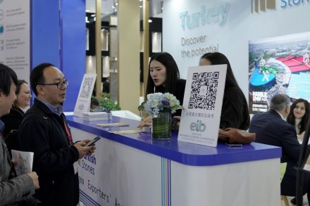 EIB goes WeChat at the Xiamen Stone Fair 2019.