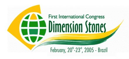 The logo of the first Global Stone Congress held 2005 in Brazil.