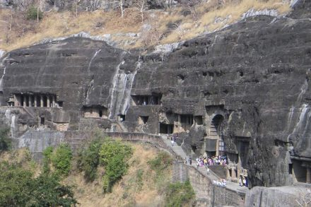 "Ajanta Caves. Foto: <a href=""https://commons.wikimedia.org/""target=""_blank"">Wikimedia Commons</a>"