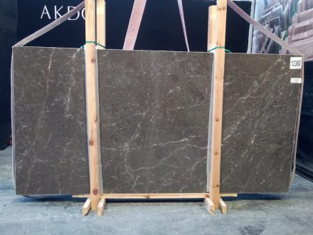Dark Olive limestone from Turkish Silkar company.