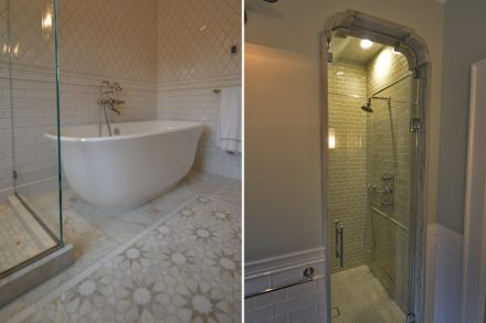 CID-Awards: Installation Grand Prize. Project: Hinkley Project. Installer: Hawthorne Tile. Location: Portland, OR.