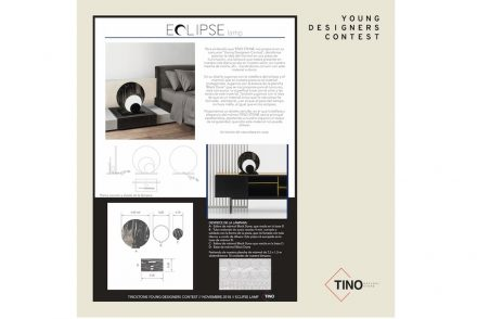 "Tino Design Contest 2018: ""Eclipse"", Catia Santos."