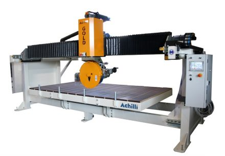 "Achilli's CNC controlled saw ""Gold"". Rendering: Achilli"