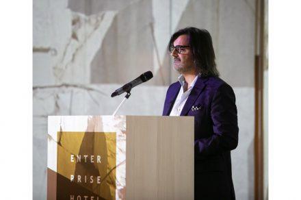 Marco De Angelis from GDA (Marmi e Graniti, Massa), president of Confindustria Marmomacchine.