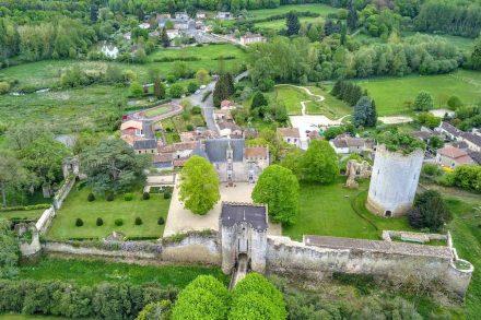 Eines der Gewinnerprojekte 2019: das Schloss von Montreuil Bonnin, Frankreich. Foto: Familie Dupont