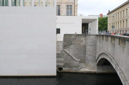 Detail der alten Ufermauer am Kupfergraben. Foto: Peter Becker