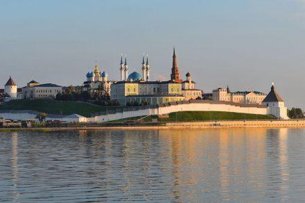 The Kazan Kremlin.