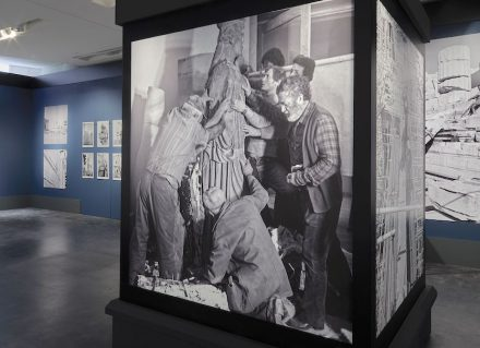 "Exhibition ""Chisel and Memory"" in the Acropolis Museum in Athens."