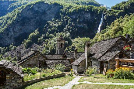Das Val Bavona.