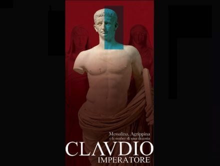 "Exhibition ""Claudio Imperatore"" in the Museo dell'Ara Pacis, Rome."
