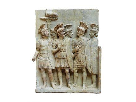 Relief with praetorians, Louvre.