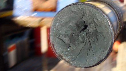 Basis für die Studie sind Sedimentproben, die bei wissenschaftlichen Expeditionen gewonnen wurden. Foto: T. Andrén, ECORD/IODP