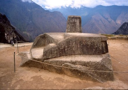 "The Intihuatana Stone which is believed to have been a tool to define a calendar. Photo: Colegota / <a href=""https://commons.wikimedia.org/""target=""_blank"">Wikimedia Commons</a>"