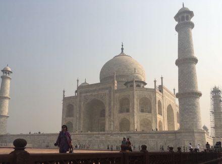 Der Makrana-Marmor des Taj Mahal ist 2019 in die Liste der Global Heritage Stone Resource aufgenommen aufgenommen worden. Foto: Dr. Anton Hütz