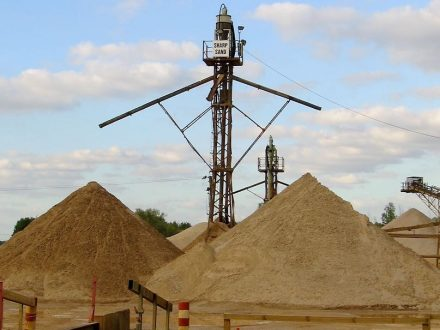 "Sand sorting tower. Ühoto: Andrew Dunn / <a href=""https://commons.wikimedia.org/""target=""_blank"">Wikimedia Commons</a>"