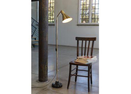 """Tato Lighting company: """"Alzabile"""" floor lamp by Ignazio Gardella."""