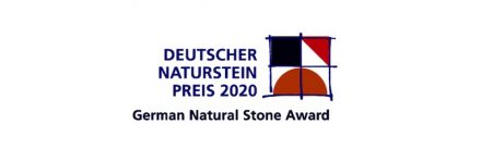 Logo of the German Natural Stone Award.