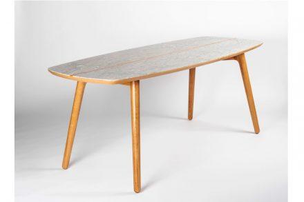 """Simon Chéreau: table """"Narcisse""""."""