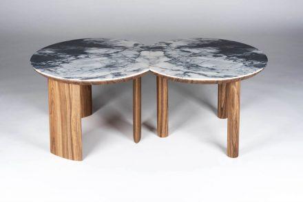 "Simon Chéreau: side-table ""Echo""."