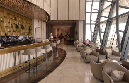 Longhi: business lounge at the new International Airport of Muscat.