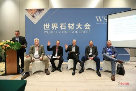 At the World Stone Congress in Xiamen 2018, members of the NSI delegation played important roles in panel discussions or as lecturers. Photo: Xiamen Stone Fair
