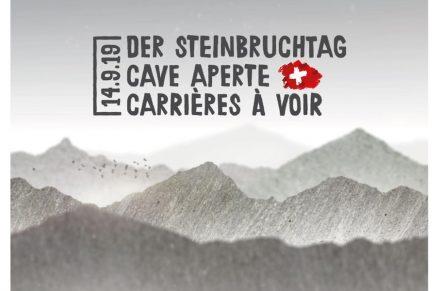 Steinbruchtag 2019 in der Schweiz.