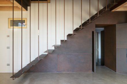 Giovanni Zanella: former farmhouse modernized.