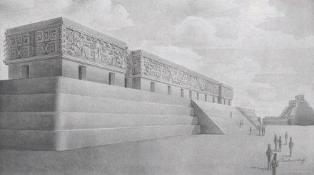 Rekonstruktion des Palacio del Gobernador im Stil der 1920er...