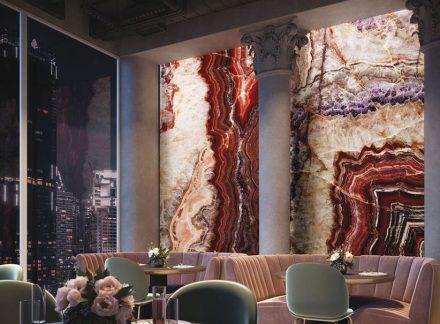 Wandplatten von TechnoGrafica. Foto: Screenshot