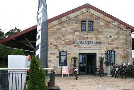 Hünfeld, ehemalige Güterhalle.