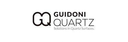Logo of Guidoni Quartz Surfaces.