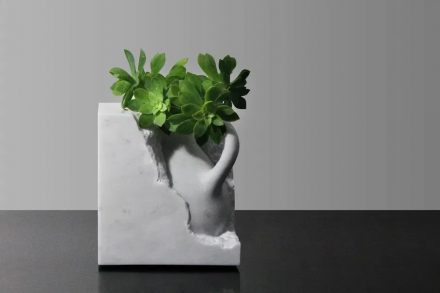 """""""Functional sculptures"""" is a small but exclusive market for natural stone."""